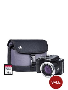 kodak-pixpro-az422-20mp-42x-zoom-black-camera-kit-inc-32gb-sdhc-card-amp-case