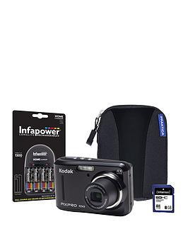 kodak-kodak-pixpro-fz43-black-camera-kit-inc-4x-aa-batteries-8gb-sd-case-amp-charger