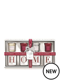 baylis-harding-baylis-amp-harding-4-votive-candles-amp-home-holders-redwhite