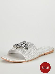 v-by-very-aurora-embellished-slider-sandal-silver