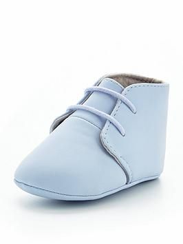 mini v by very boys baby lace up booties
