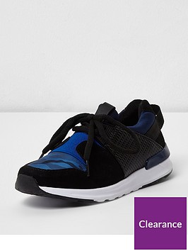 river-island-boys-navy-camo-insert-runner-trainer