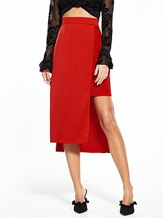 river-island-red-skirt