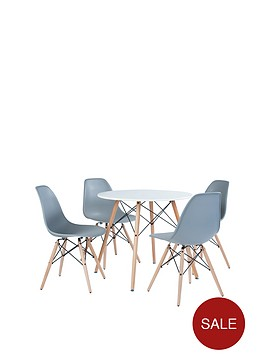paris-80-cm-round-dining-table-4-chairs-greywhite