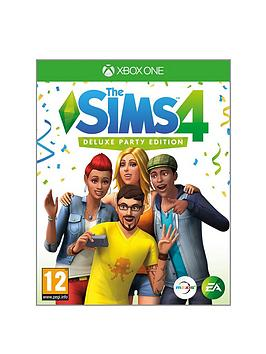 xbox-one-the-sims-4-deluxe-party-edition