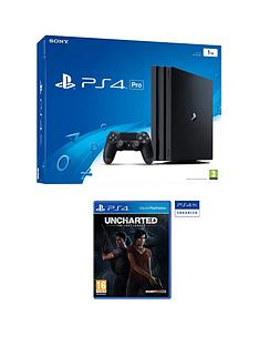 playstation-4-pro-console-with-uncharted-the-lost-legacy-plus-optional-extra-dualshock-controller-andor-12-months-playstation-network