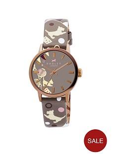 radley-printed-leather-strap-watch