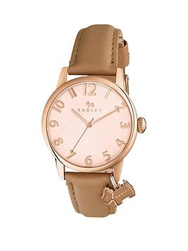 radley-liverpool-street-nude-leather-strap-watch-with-dog-charm