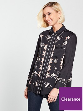 ted-baker-flordel-queen-bee-piping-shirt
