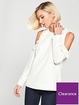ted-baker-ted-baker-steffe-cold-shoulder-ruffle-top
