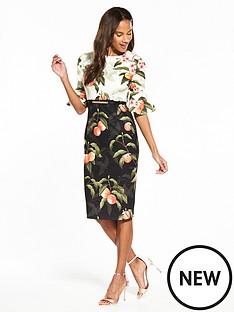 ted-baker-ted-baker-areea-peach-blossom-ruffle-dress