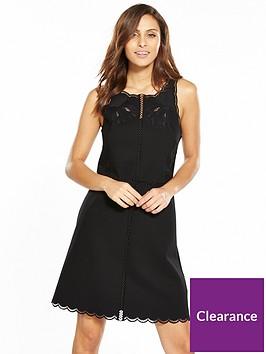 ted-baker-codi-embroidered-scalloped-hem-dress-black
