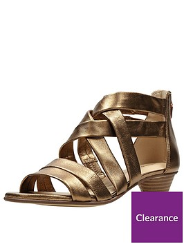 clarks-mena-silk-low-heeled-sandal-bronze-metallic
