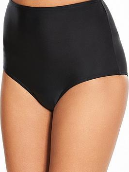 4a9953e49a579 V by Very Shapewear High Waist Bikini Briefs - Black