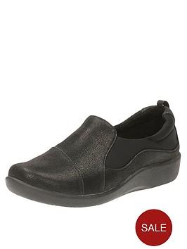 clarks-sillian-paz-wide-fit-slip-on-shoe-black