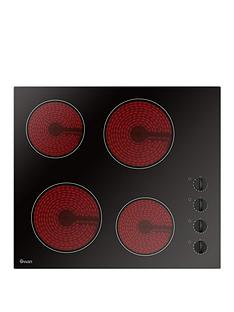swan-sxb7050b-60cm-built-in-ceramic-hob-with-schott-glass-next-day-delivery-black