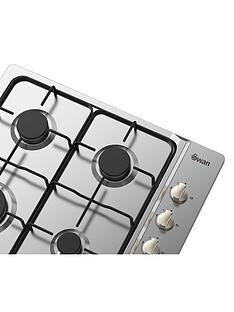 swan-sxb7030ssnbsp60cm-built-in-gas-hob-next-day-delivery--nbspstainless-steel