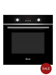 swan-sxb70110b-60cm-built-in-single-electric-fan-oven-next-day-delivery-black