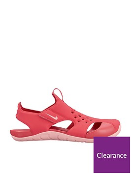 nike-sunray-protect-2-childrens-sandals-pink