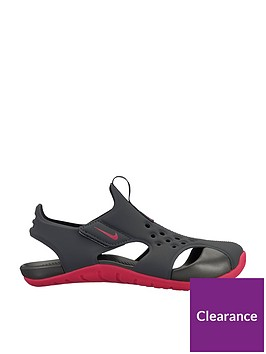 nike-sunray-protect-2-childrens-sandals-blackpink