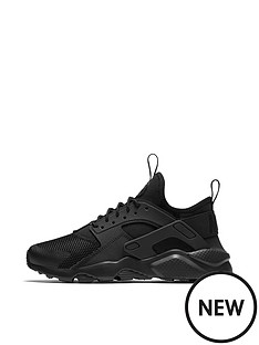 nike-air-huarache-run-ultra-junior-trainers-black