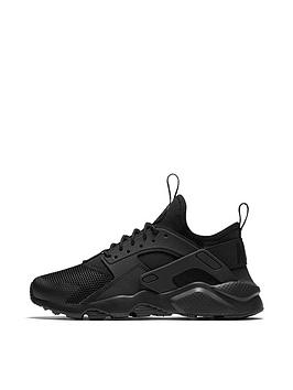 db5921f06b Nike Air Huarache Run Ultra Junior Trainers - Black | littlewoods.com