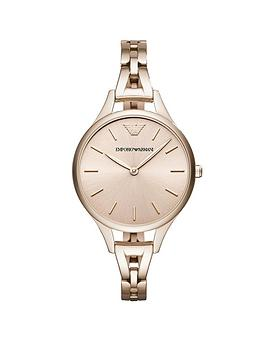emporio-armani-pink-ip-stainless-steel-bracelet-ladies-watch