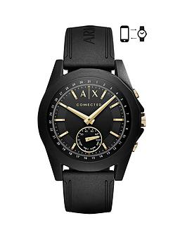 armani-exchange-connected-gold-indices-black-silicone-strap-hybrid-smartwatch
