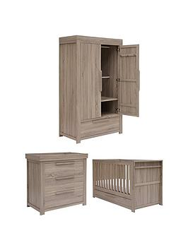 Mamas & Papas Mamas & Papas Franklin Cot Bed, Dresser Changer And Wardrobe Picture