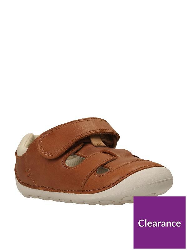 cosecha Esta llorando milla nautica  Clarks Baby Boys Tiny Ash First Sandals - Tan | littlewoods.com