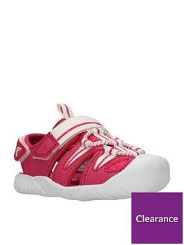 clarks-baby-girls-rapid-bay-first-sandals-raspberry