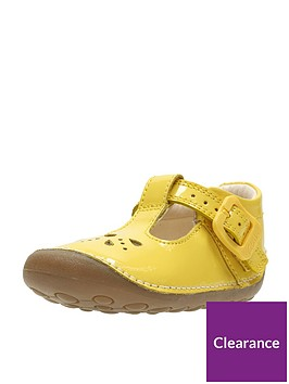 clarks-baby-girls-little-weave-first-shoes-yellow