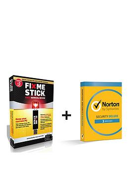 norton-norton-security-deluxe-30-in-1-user-3-device-12month-amp-fixmestick-computer-virus-removal-device-3-pcs-1-year