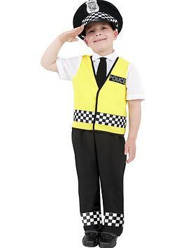 Very Child Policman Costume Picture