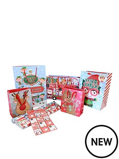 children039s-41-pc-christmas-gift-set-bags-wrap-and-tags
