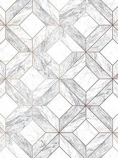 contour-marble-marquetry-grey-wallpaper