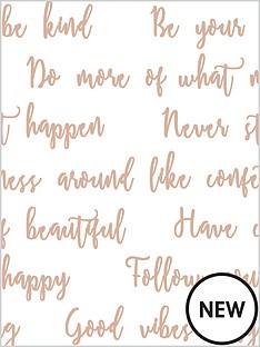 superfresco-easy-good-vibes-quote-whiterose-gold-wallpaper