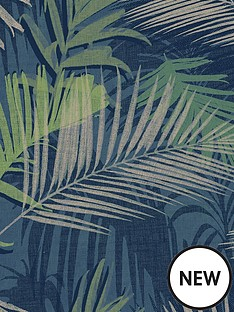 boutique-jungle-glam-bluegreen-wallpaper