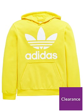 adidas-originals-adicolor-childrens-trefoil-oth-hoodie-yellow