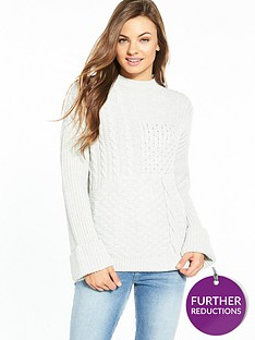 v-by-very-patchwork-pattern-turn-up-cuff-jumper
