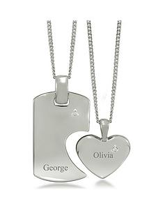 keepsafe-sterling-silver-cubic-zirconianbsphis-and-hers-personalised-tag-and-heart-spilt-pendant