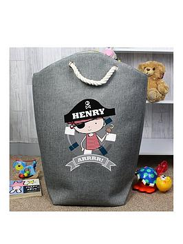 Very Personalised Pirate Storage Bag Picture