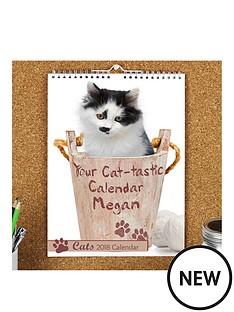 personalised-cat-calendar-2018