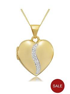 keepsafe-9ct-gold-personalised-diamond-heart-locket