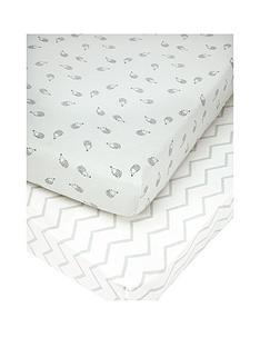mamas-papas-mamas-amp-papas-pk-2-cot-bed-fitted-sheets-aqua