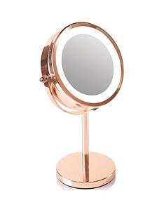 rio-rio-1-x-amp-5-x-magnifying-mirror-rose-gold-led-illuminated-cosmetic-amp-makeup-mirror