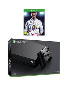 xbox-one-x-console-with-fifa-18-plus-optional-extra-controller-and-12-months-xbox-live