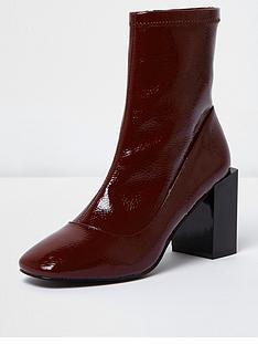 river-island-river-island-raine-patent-square-toe-boot
