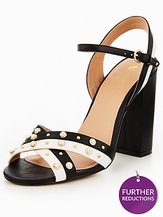 v-by-very-frenchie-pearl-cross-over-heeled-sandal-monochrome