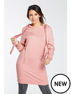 michelle-keegan-longline-ribbon-tie-hoodienbsp--pink